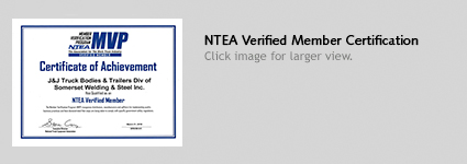 NTEA Verified Member Certification